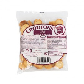 Croûtons nature paquet 75g
