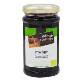 Préparation de fruits BIO myrtille pot 260g