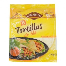 Lot de 3x320gr de Tortillas de blé 20cm Camarillo