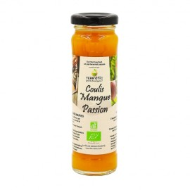 Lot de 5x156ml de Coulis Mangue Passion BIO
